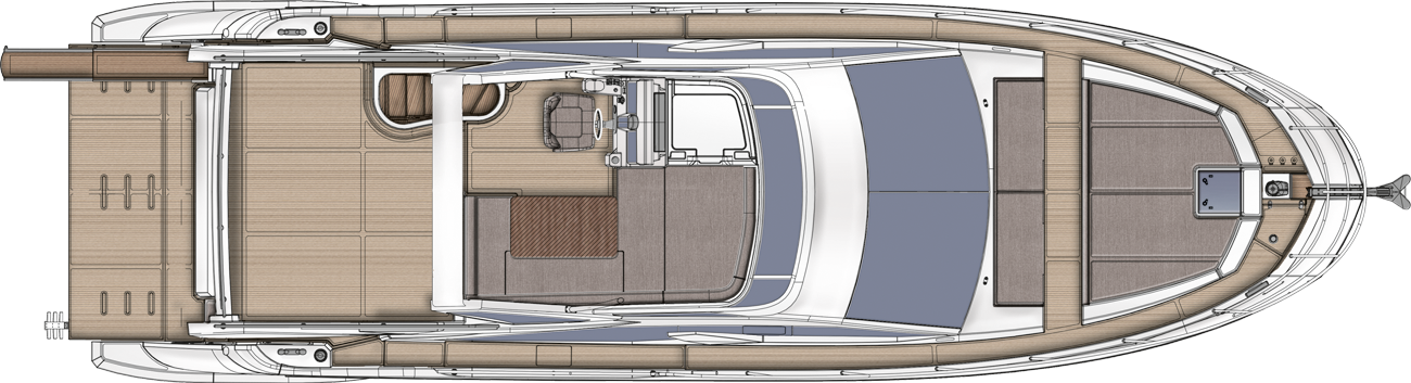 Azimut 50 Galley UP Version