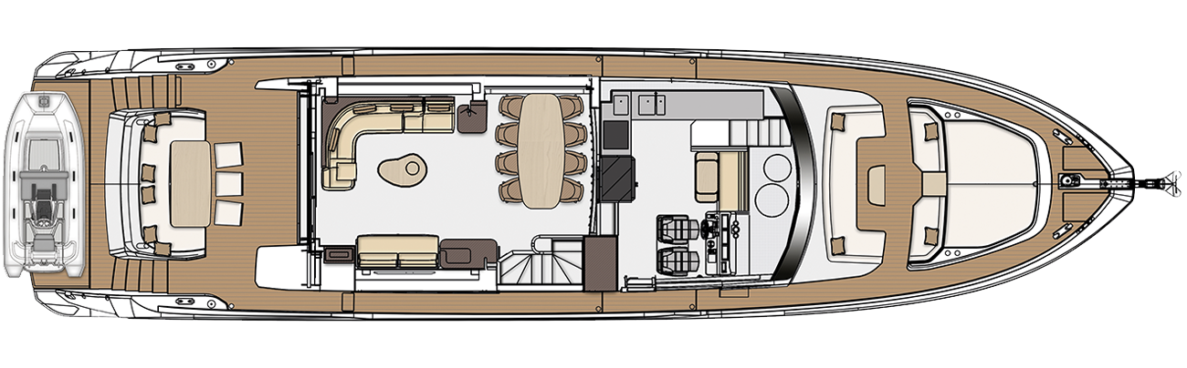 Main deck - dining version
